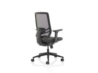 Dynamic Ergo Twist Black Seat and Back Office Chair