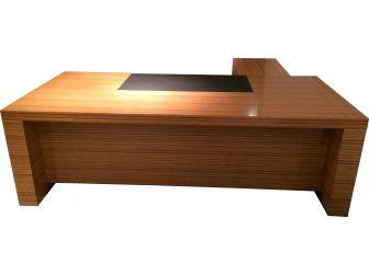 Executive Desk With Stunning Real Wood Gloss Veneer SEN-HSN-B9L241 - 2000mm
