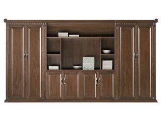 Large Executive Bookcase & Display Unit CYR-BKC-KM5J08