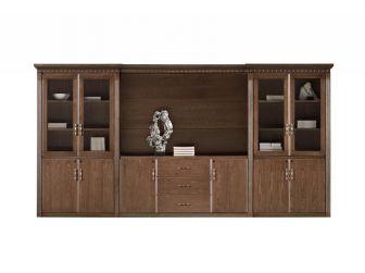 Executive Bookcase 4m Wide Storage Unit DEL-BKC-KM4J07