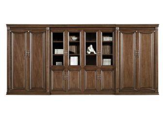 Large Executive Bookcase 4.4m Wide EDE-BKC-KM2K08