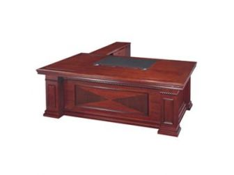 Wood Veneer High Quality Executive Desk EMP-DSK38