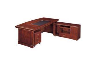 Executive Office Desk With Curvy Design EMP-DSK46