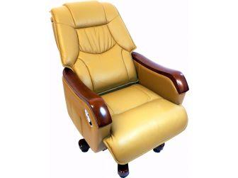 Excutive Office Chair Beige Leather GRA-CHA-A13-3-BI