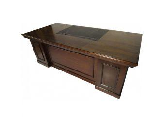 Traditional Walnut Executive Office Desk