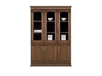3 Door Executive Bookcase Storage Unit HER-BKC-KM6C3