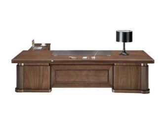 Large stylish Executive Office Desk Real Wood Veneer HER-DSK-K3Y281
