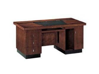 Black & Wood Home Office Desk HME-DSK3