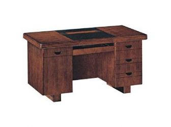 Quality Home Office Desk With Wood Feet HME-DSK7