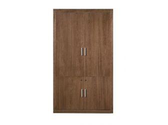 Enclosed Wood Veneer Bookcase KAT-BKC-KM5B02