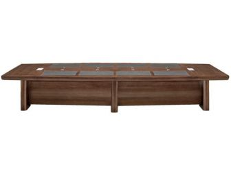 Executive Boardroom Table 2 Sizes LAT-MET-KT2D48