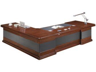 Large Luxury Desk With Leather Detailing NAX-DSK-U9C321