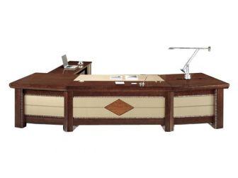 3.2m Wide Executive Desk Unique Styling PHA-DSK-UTB323