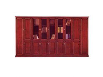 3.6m Wide Executive Office Bookcase Unit RYL-BKC1