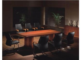 Executive Meeting Room Table Two Tone DES-MET-1861-2.0