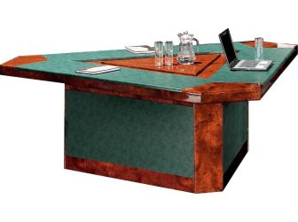Triangle Shaped Meeting Table SCH-16835C