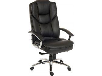 Italian Leather Faced Executive Chair SKYLINE