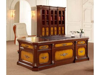 Magnificent traditional design Office Desk PRO-T1328-2400mm
