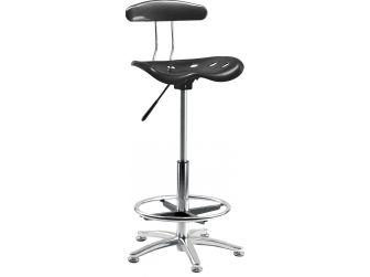 High Rise Counter Draughtsman's Chair TEK-CHAIR