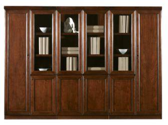 Executive Office Storage Bookcase BKC-1503  2 door configurable