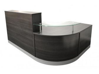 Reception Desk Counter - Anthracite