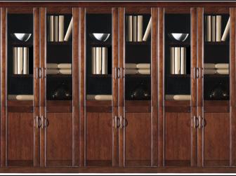 Executive Office Storage Bookcase BKC-KM162-3