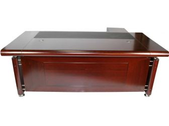 Senato DES-1861-2.2-M Mahogany Executive Office Desk
