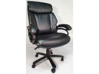 Heavy Duty Black Leather Executive Office Chair - CS2181E
