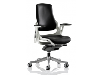 Dynamic Zure Black Leather Office Chair