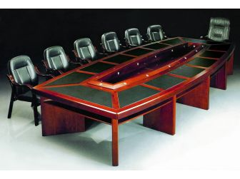 Extra Large Luxury Boardroom Table with Contemporary Design