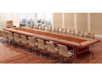 HAU-MET-520-56 Luxury 5600mm Wide Boardroom Table