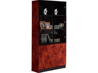 Office Storage Bookcase In High Lacquer SCA-6849A-1