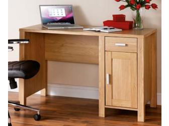 Amazon Oak Finish Home Office Desk 1.2m wide