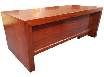 Stylish Executive Office Desk with Pedestal & Return - 0961