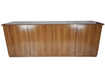 Executive Light Oak 4 Door Cupboard - 6846D