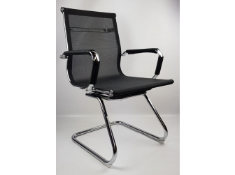Black Mesh Eames Style Executive Visitor Chair - HB-E11