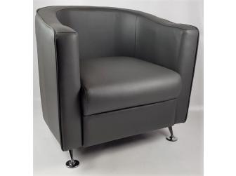 HB-022 Grey Tub Reception Chair