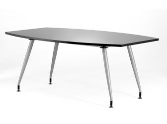 Dynamic 1800 High Gloss Boardroom Table