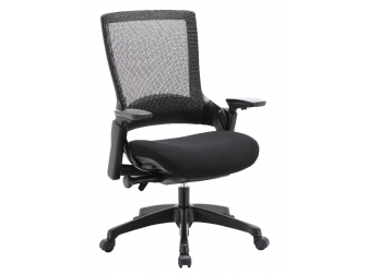 Dynamic Molet Fabric Seat and Mesh Back Office Chair