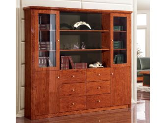 Luxury Large Executive Bookcase & Display Unit IVA-0811A