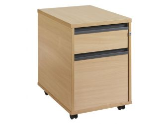 2 Drawer Mobile Desk Pedestal 25M2