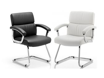 Desire Leather Cantilever Visitor Chair