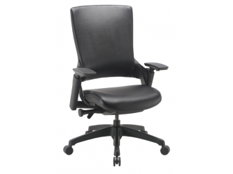 Dynamic Molet Leather Seat and Leather Back Office Chair