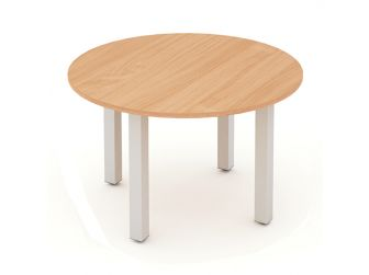 IMPULSE 1200 - Round Meeting Table in Beech