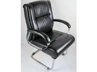 CHA-HB-027-2 Cantilever Office Chair-Black
