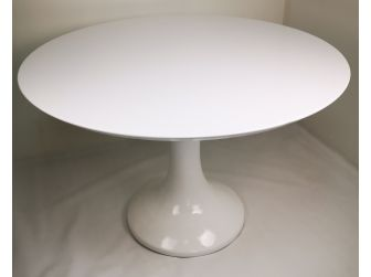Executive White Gloss Round Meeting - BG3609-WH