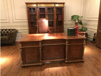 Premium Solid Wood Executive Desk ISA-10816 2.0m Wide
