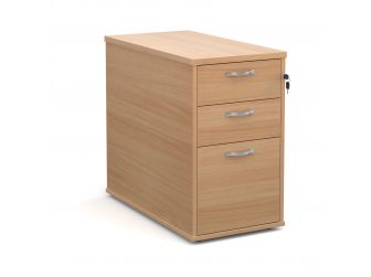 3 Drawer Deep Desk End Pedestal R25DH8