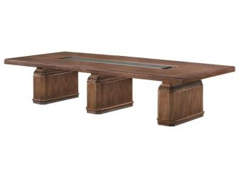 Boardroom Table Real Wood Veneer Finish DEL-MET-KT4J38