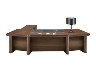 3.2m Executive Desk Real Wood Veneer LAT-DSK-K2D323